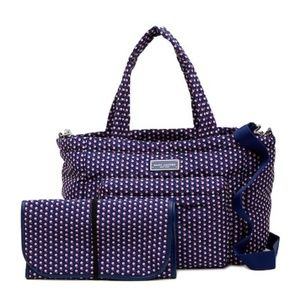 Marc Jacobs Quilted Geo Spot Baby Bag